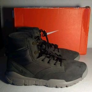 """Nike SFB 6"""" Leather NSW Army Boots Men Size 13"""